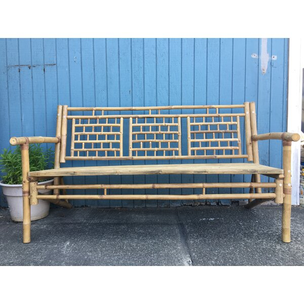 Ackerson Standard Wooden Garden Bench by Bay Isle Home