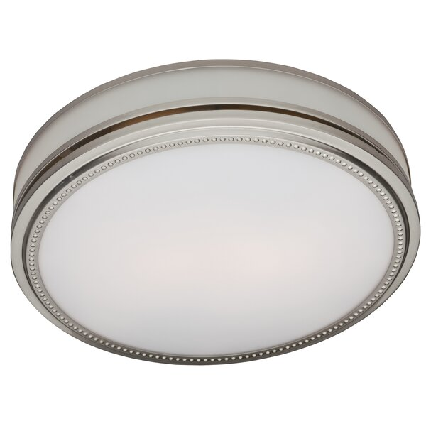 Riazzi 110 CFM Bathroom Fan with Light and Night-light by Hunter Home Comfort
