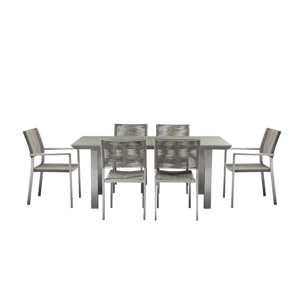 Bella 7 Piece Dining Set by Orren Ellis