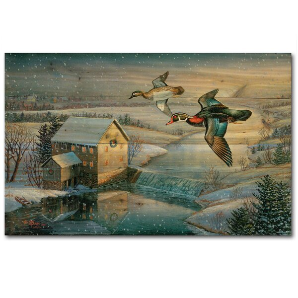 Flying High by Sam Timm Painting Print Plaque by WGI-GALLERY