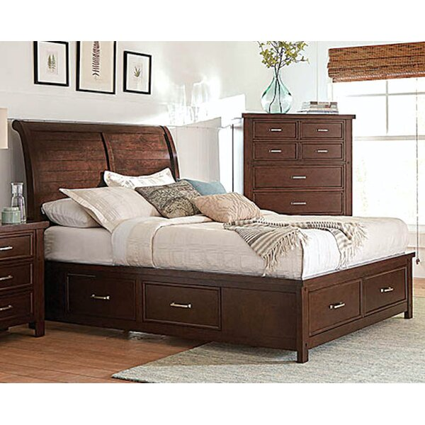 Leda Storage Sleigh Bed by Longshore Tides