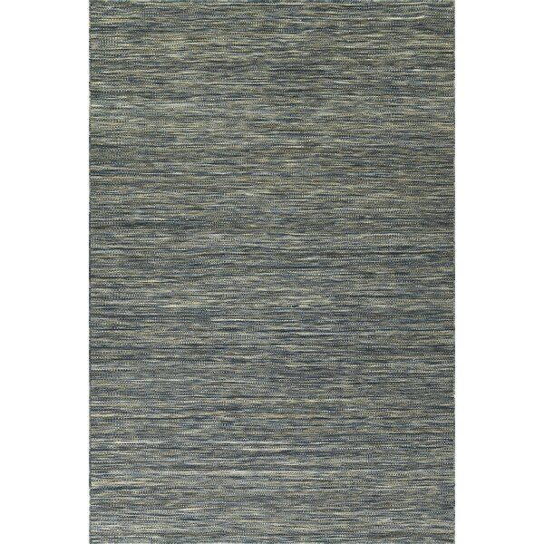 Isere Hand Woven Wool Navy Area Rug by Gracie Oaks