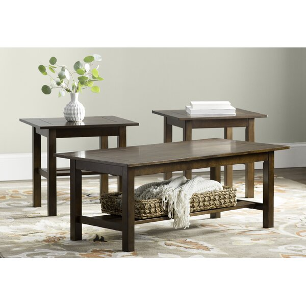 Frances 3 Piece Coffee Table Set by Andover Mills