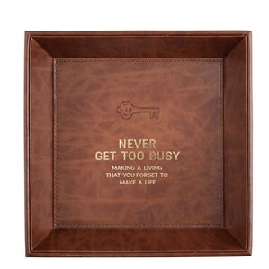Handsome Never Get Too Accessory Tray by CB Gift