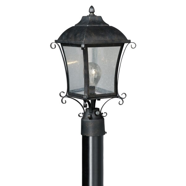 Brugger Outdoor 1-Light Lantern Head by Fleur De Lis Living