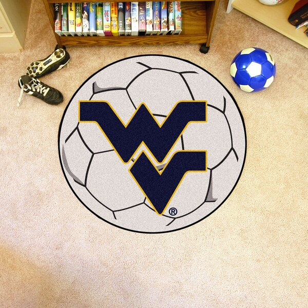 NCAA West Virginia University Soccer Ball by FANMATS