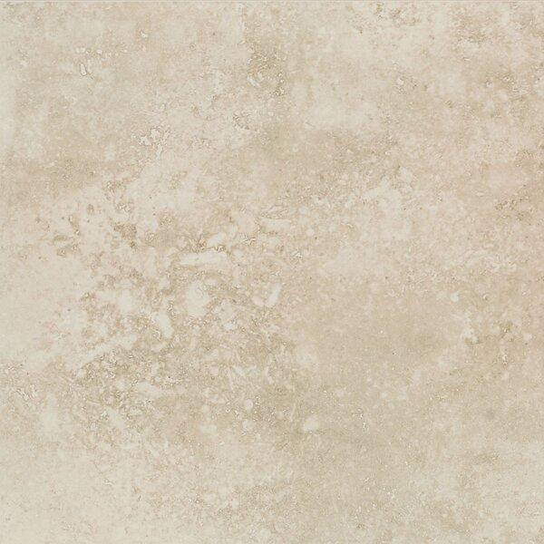 MAVANA 13 x 13 Porcelain Tile in Ivory Cream by Mohawk Flooring