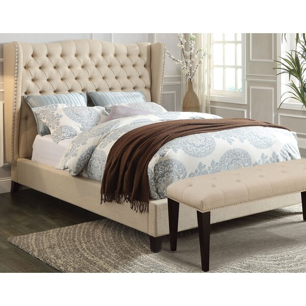 Tyann Full/Double Upholstered Platform Bed with Mattress by Charlton Home