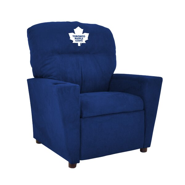 NHL Kids Recliner with Cup Holder by Imperial International