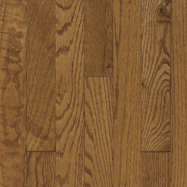 Ascot Strip 2-1/4 Solid Oak Hardwood Flooring in Chestnut by Armstrong Flooring