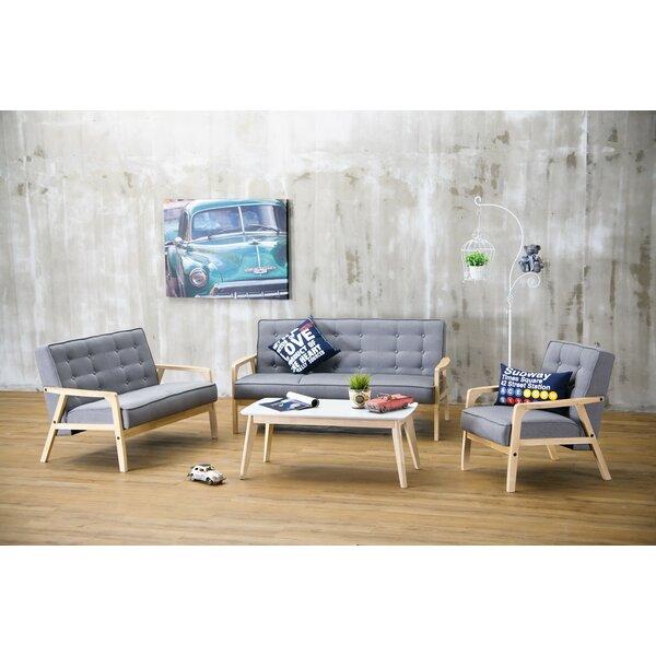 Calla 3 Piece Living Room Set by Latitude Run