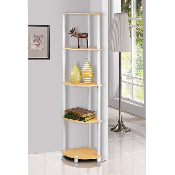 Multipurpose Display Corner Bookcase (Set Of 2) By Symple Stuff