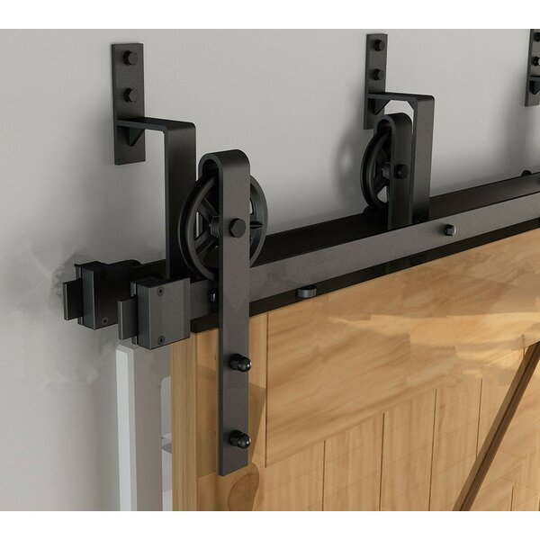 Bypass Wheel Barn Door Hardware by Vancleef