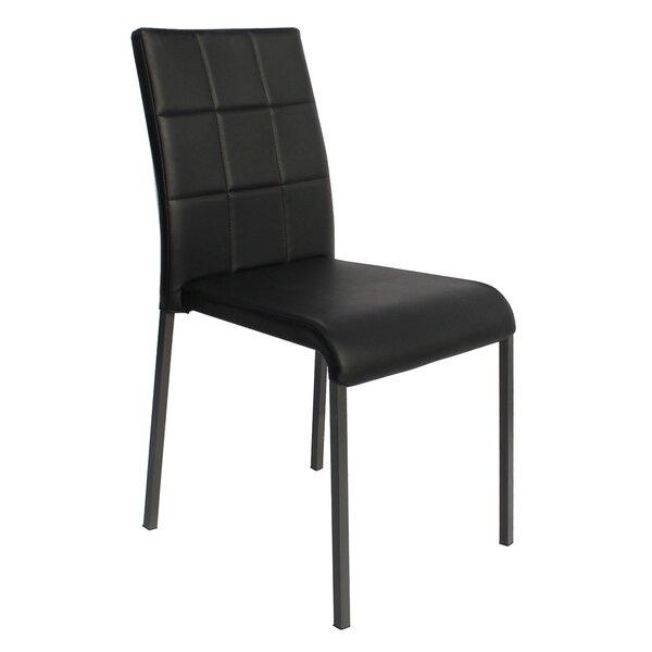 Tony Stackable Side Chair (Set of 4) by Orren Ellis