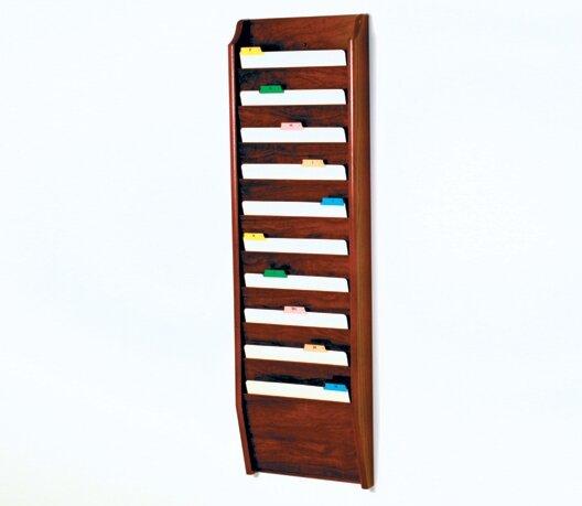 Ten Pocket Chart Holder by Wooden Mallet| @ $148.00