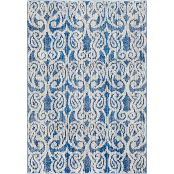 Courtney Denim/Navy Area Rug by House of Hampton