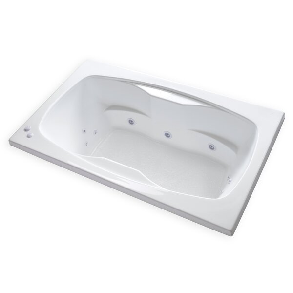 Hygienic Aqua Massage 72 x 42 Whirlpool Bathtub by Carver Tubs