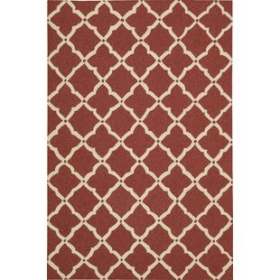 Oaknoll Hand-Tufted Red Area Rug