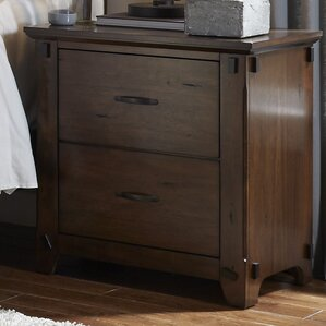Batten 2 Drawer Nightstand by Darby Home Co