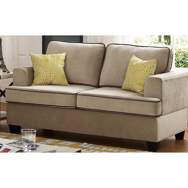 Classy Guglielmo Loveseat by Charlton Home by Charlton Home