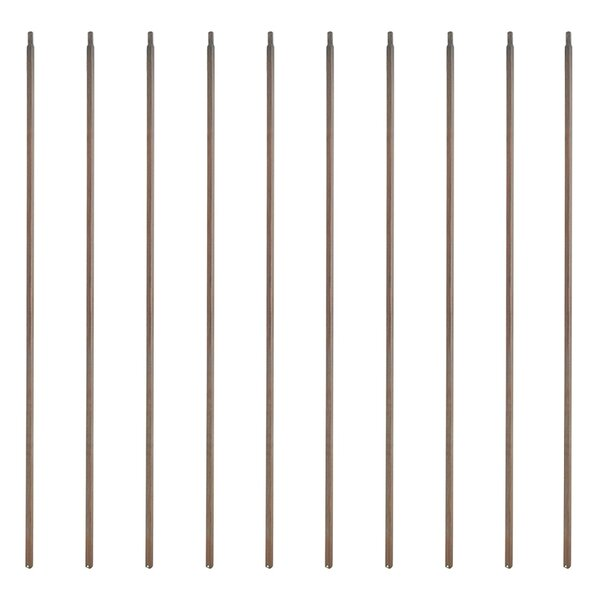 Simple Square Spindles Design Baluster (Set of 10) by ALEKO