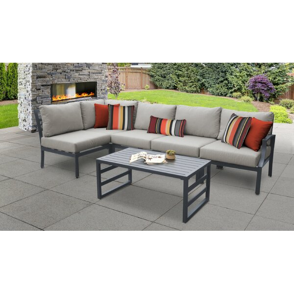 Benner 6 Piece Sectional Seating Group with Cushions by Ivy Bronx