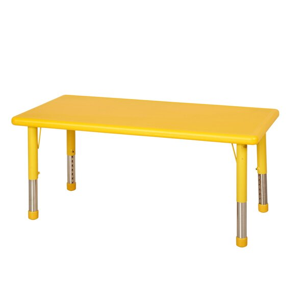 48'' x 24'' Rectangular Activity Table by ECR4kids