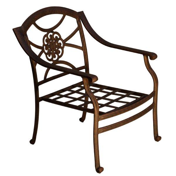 Ross Patio Chair by Fleur De Lis Living