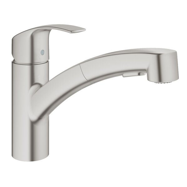 Eurosmart Pull Out Standard Single Handle Kitchen Faucet by GROHE GROHE