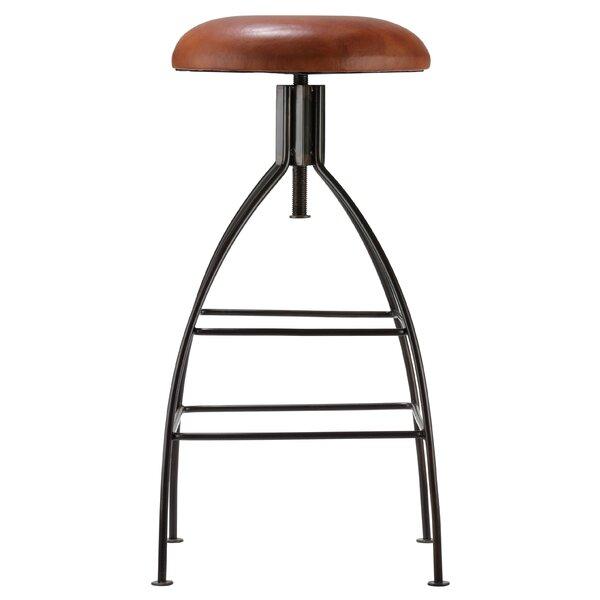 Adjustable Height Swivel Bar Stool by Bare Decor