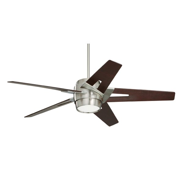 54 Hamlet 5 Blade LED Ceiling Fan by Williston Forge