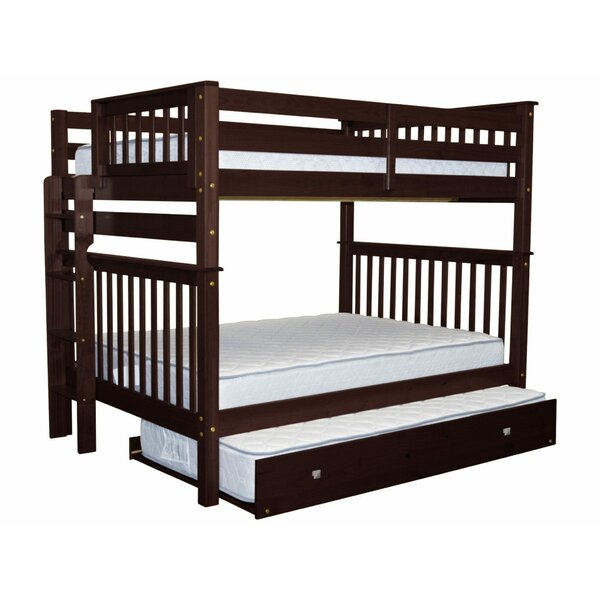 Treva Full over Full Bunk Bed with Trundle by Harriet Bee