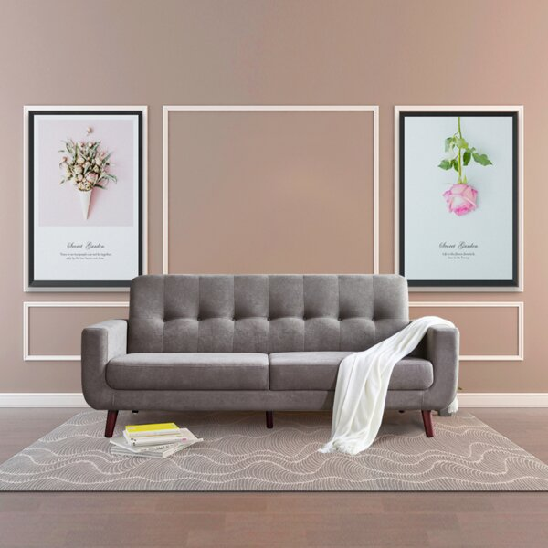 Shelbina 79.6'' Recessed Arm Sofa By George Oliver