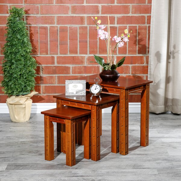 Castellanos Furniture 3 Piece Nesting Tables by Millwood Pines Millwood Pines