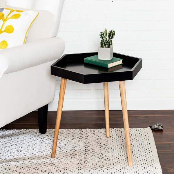 Varnell Tray Top End Table By George Oliver