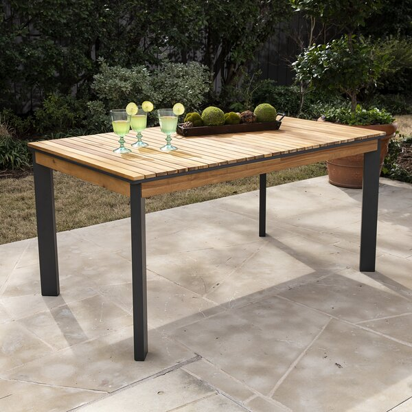 Parnell Solid Wood Dining Table by Bayou Breeze