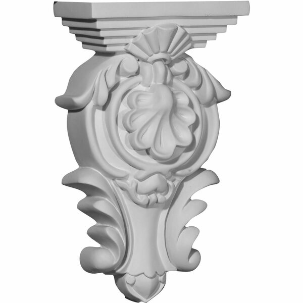 Royal 9 3/8H x 5 1/2W x 2 3/4D Leaf Corbel by Ekena Millwork
