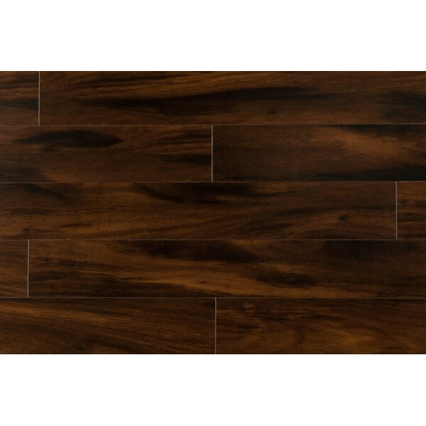 Original 47.85 x 4.96 x 15mm Laminate Flooring in Chocolate Mocha by Dekorman