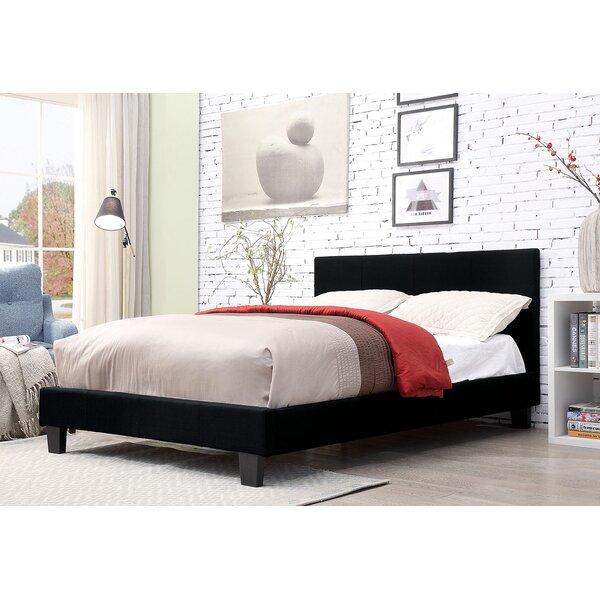Nitya Upholstered Platform Bed by Latitude Run Latitude Run