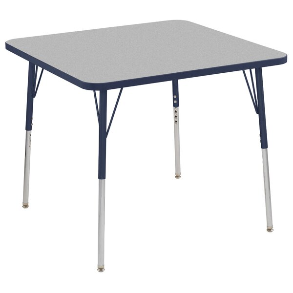 Thermo-Fused Adjustable 36 Circular Activity Table by ECR4kids