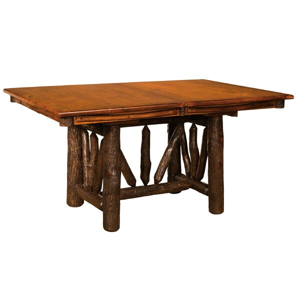 Quinonez Solid Wood Dining Table by Loon Peak