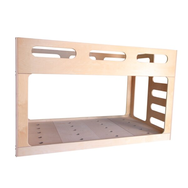 Ottery Twin Over Twin Bunk Bed by Harriet Bee