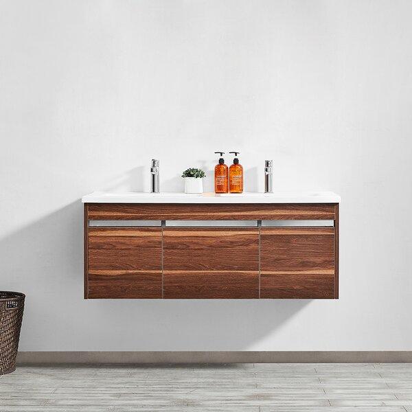 Adalynn 48 Double Bathroom Vanity by Wrought Studio