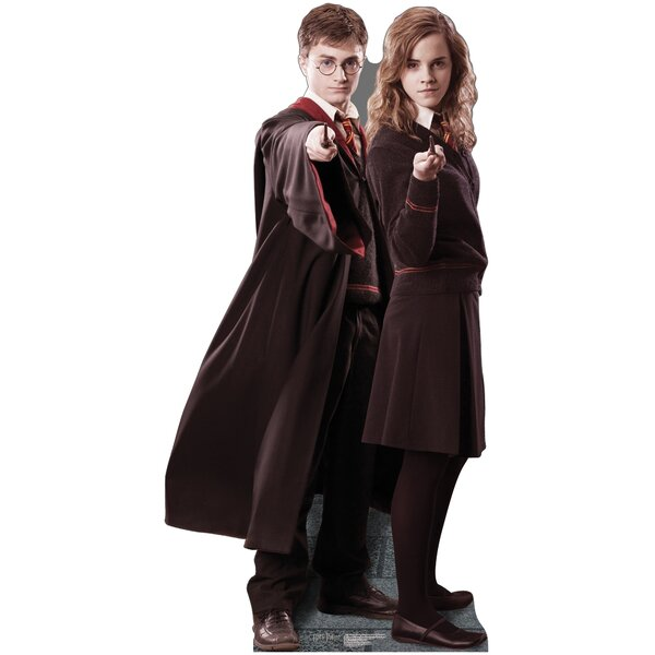 Harry Potter - Harry and Hermione Cardboard Stand-Up by Advanced Graphics