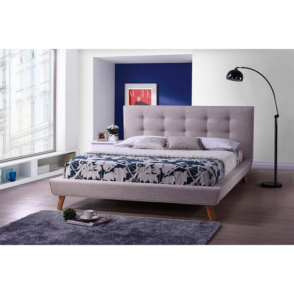 Pyrrhos Upholstered Platform Bed by Latitude Run