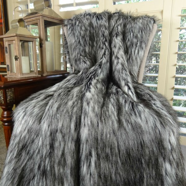 Ryant Siberian Husky Single Bedspread