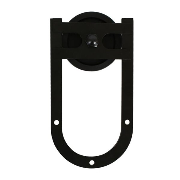 Horse Shoe Strap Barn Door Hardware by Quiet Glide
