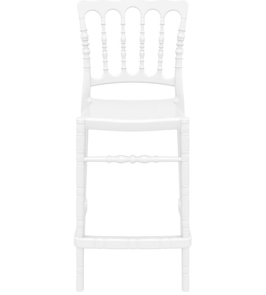 Bellflower Polycarbonate 25.5 Patio Bar Stool (Set of 2) by Mercer41