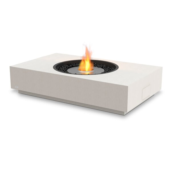 Martini Freestanding Stainless Steel Bio-Ethanol Fuel Fire pit by EcoSmart Fire