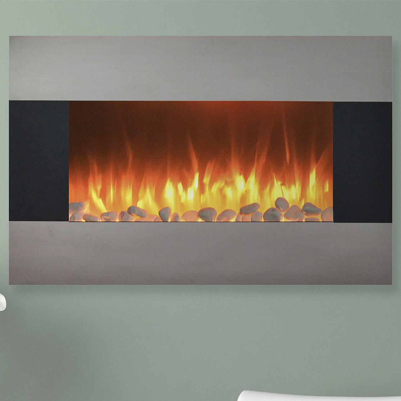 with floor walmart stand ip wall northwest and mahogany com mount fireplace